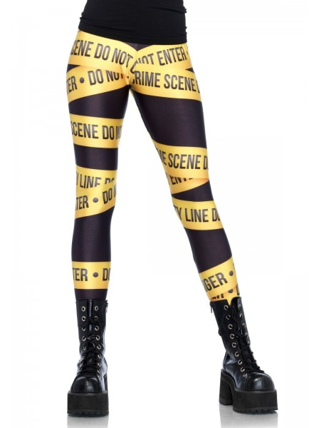 Leg Avenue Lingerie: Crime Scene leggings Leg Avenue in vendita su Tangamania Online