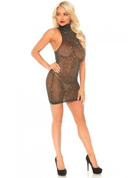Mini abito a collo alto in due colori Leg Avenue in vendita su Tangamania Online