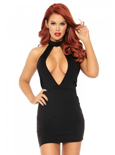 Sexy abitino scollato con girocollo Leg Avenue in vendita su Tangamania Online