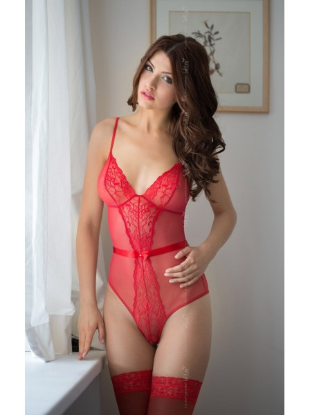 Linda body rosso Softline in vendita su Tangamania Online