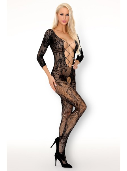 Fainam bodystocking aperta decorata da perline Livia Corsetti in vendita su Tangamania Online