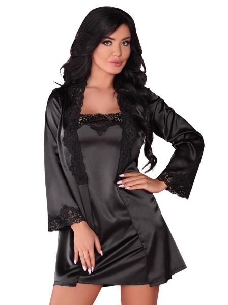 Jacqueline vestaglia chemise e perizoma in due colori Livia Corsetti in vendita su Tangamania Online