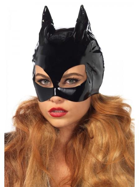 Maschera da Catwoman in vinile Leg Avenue in vendita su Tangamania Online