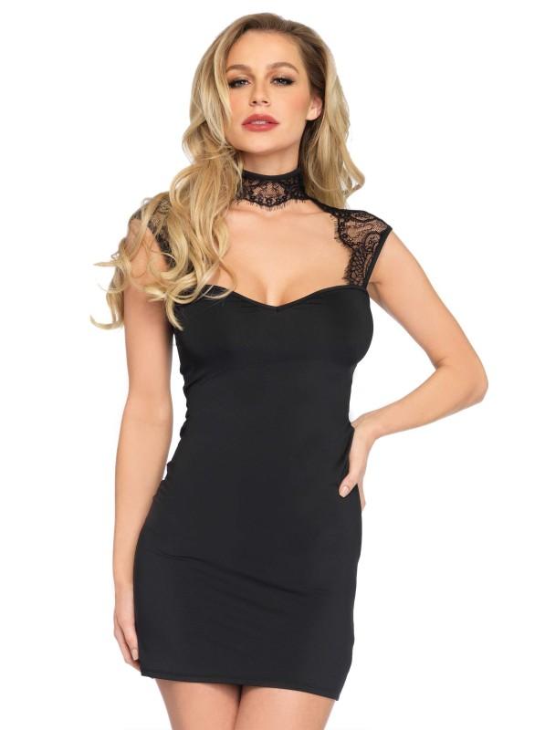 Mini abito modello Rose Leg Avenue in vendita su Tangamania Online