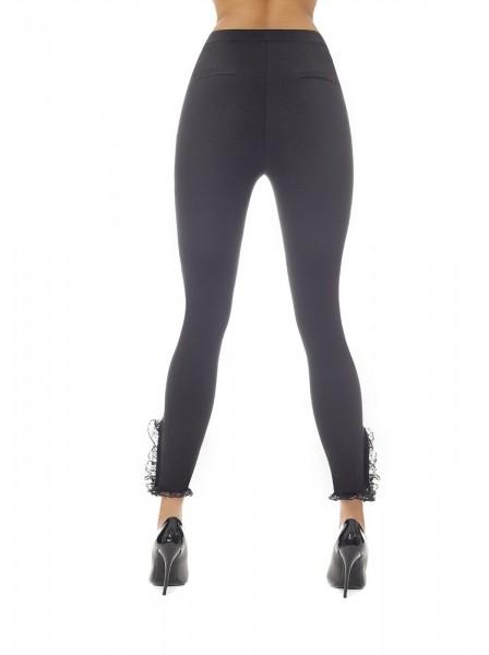 Cheryl leggings push up con perle BasBleu in vendita su Tangamania Online