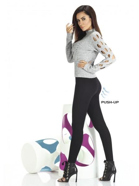 Octavia leggings in maglia elastica in due colori BasBleu in vendita su Tangamania Online