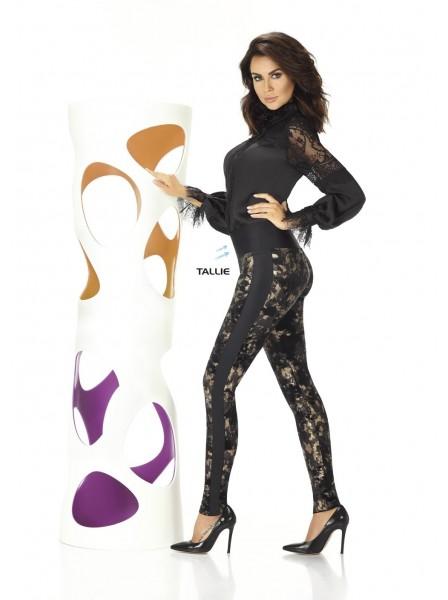 Valentina leggings maculato dorato BasBleu in vendita su Tangamania Online