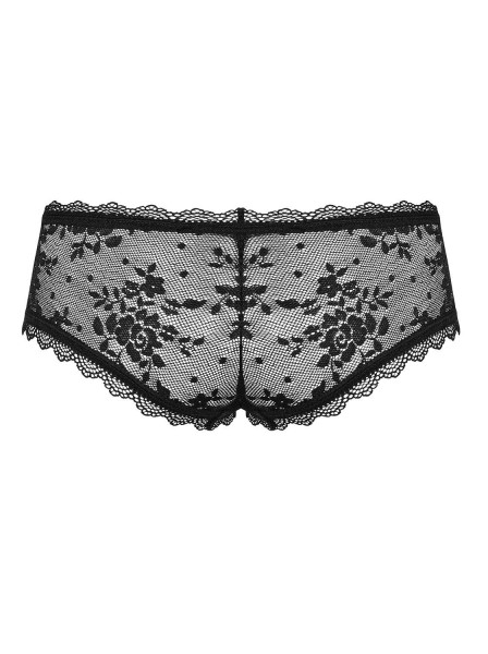 Behindy shorties in pizzo con sexy apertura Obsessive Lingerie in vendita su Tangamania Online