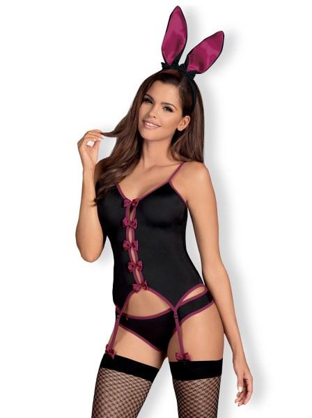 Bunny costume da coniglietta quattro pezzi Obsessive Lingerie in vendita su Tangamania Online