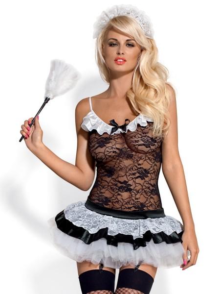 Housemaid costume da cameriera 5 pezzi Obsessive Lingerie in vendita su Tangamania Online