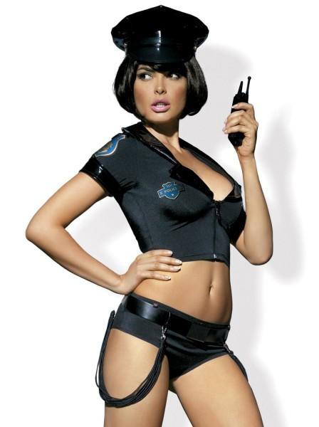Police costume cinque pezzi Obsessive Lingerie in vendita su Tangamania Online