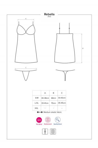 Redella abito e perizoma Obsessive Lingerie in vendita su Tangamania Online