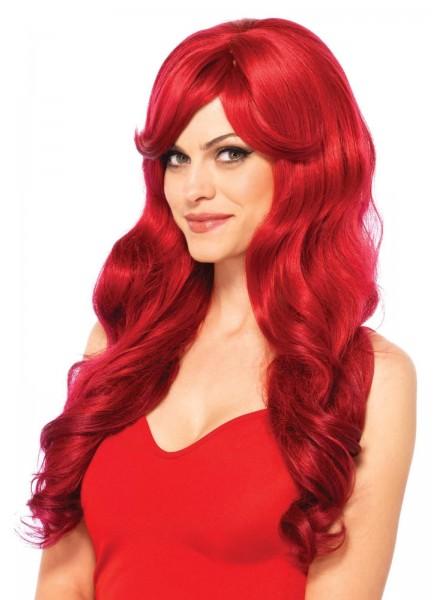 Parrucca lunga rossa Leg Avenue Leg Avenue in vendita su Tangamania Online