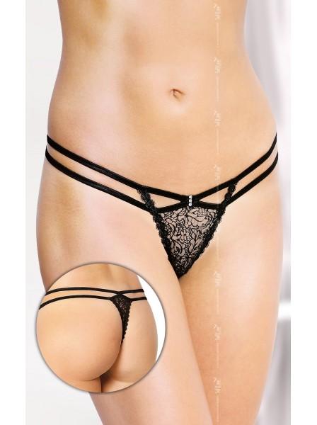 Perizoma a doppia stringa con strass Softline in vendita su Tangamania Online