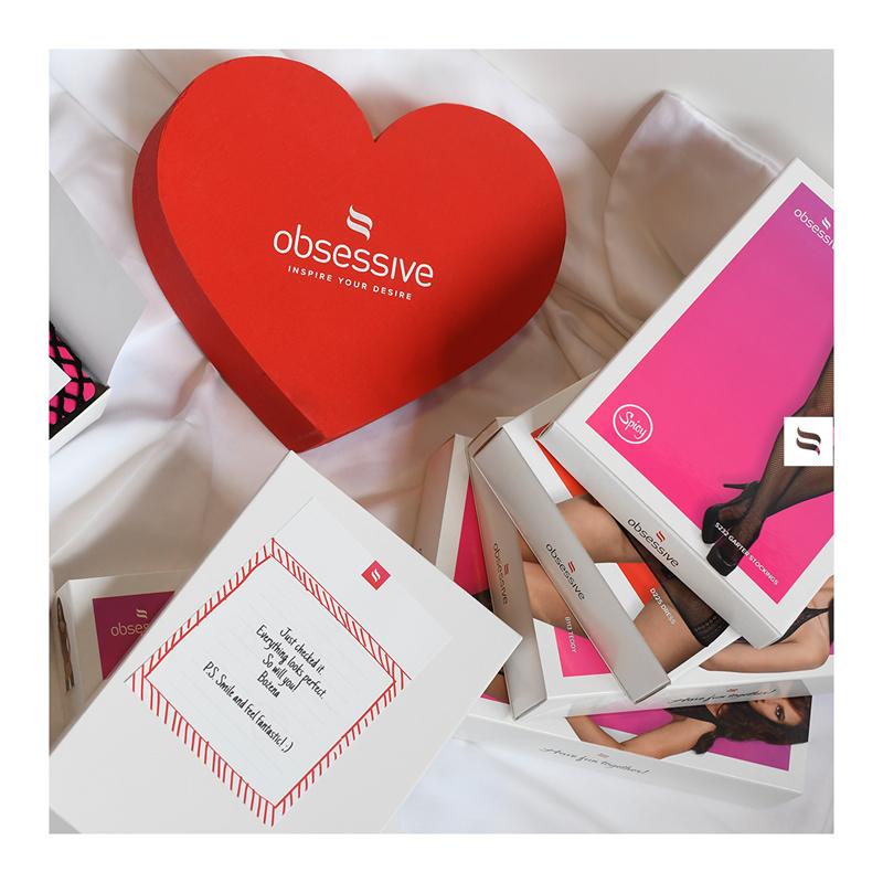 Tangamania Online è distributore ufficiale di Obsessive Lingerie inspire your desire